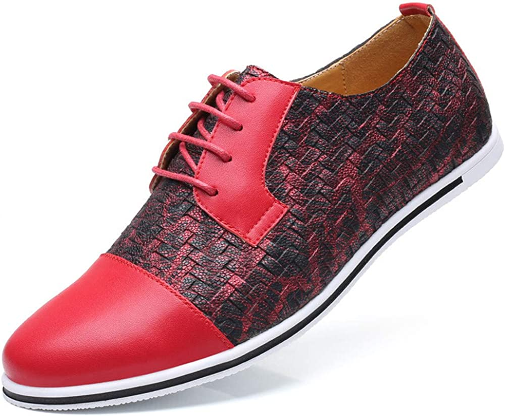 Oxford Shoes for Men Men Shoes Classic Mens Shoes Casual Stitching Leather Oxfords