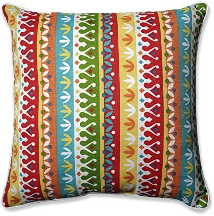 Pillow Perfect 592640 Outdoor/Indoor Cotrell Garden Floor Pillow