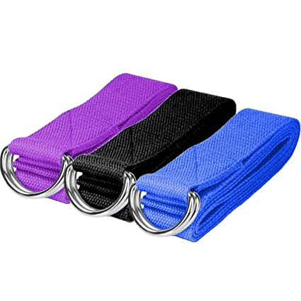 Amazon.com : DoGeek Yoga Strap 6ft Durable Cotton Exercise ...