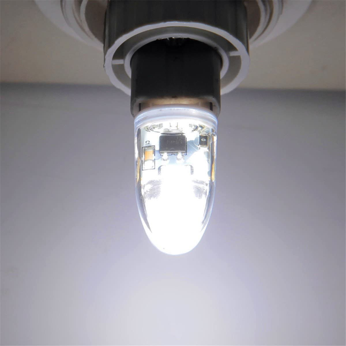 LLP-LED G9 3W COB LED Bulb Bi-Pin Base 200-300Lm Warm White Cool White Dimmable LED Lights AC 220-240V 1pcs Color : Cold White