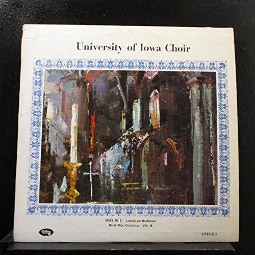 University Of Iowa Choir - Mass In C - Ludwig Van Beethoven - Lp Vinyl Record