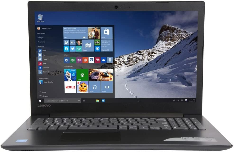 "Lenovo IdeaPad 320 15.6"" HD LED backlight Laptop - Intel Quad-Core Pentium N4200 Up to 2.5GHz 4GB DDR3 1TB HDD DVD±RW 802.11ac HDMI Bluetooth Webcam 4 in 1 card reader Win 10"