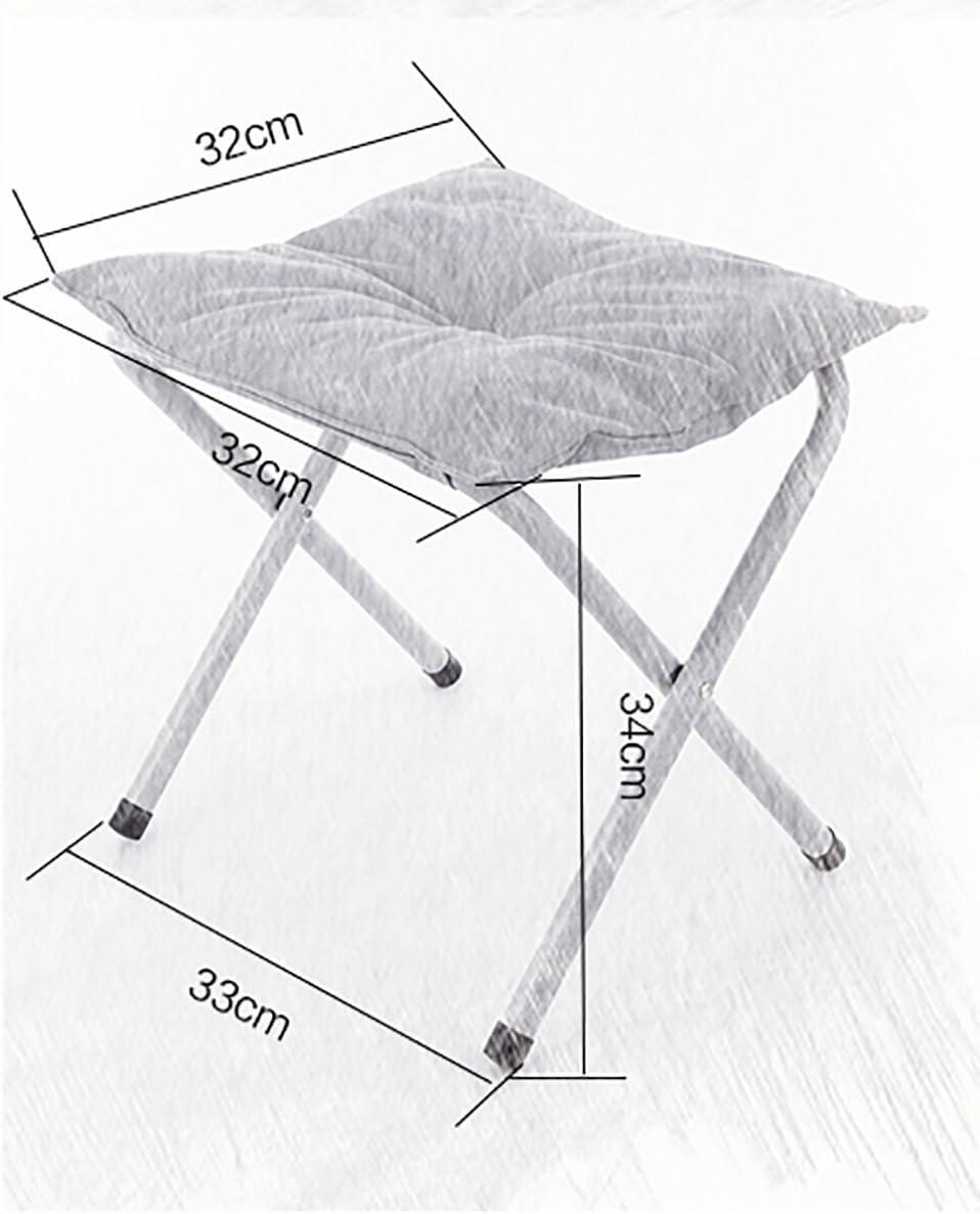 SANNIX Portable Footstool Comfortable Folding Foot Rest Stool Anti-Slip Footstool for Adults /& Kids Corduroy