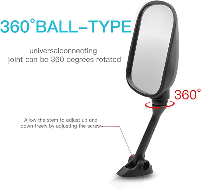 BANDIT GSF650S GSF1250S SV650S GSXR1000 GSXR 1000 2003-2012 MZS Motorcycle Mirrors Rear View Side Adjustment for Suzuki GSXR600 GSXR750 GSXR 600 750 2004-2012 GSX650F GSX1250F