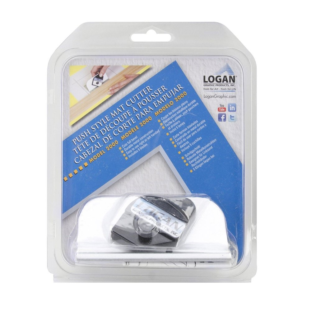Logan Graphic Products Series 2000 Retractable Hand-Held Mat Cutter 1 pcs sku# 1844350MA
