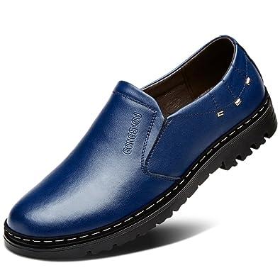 af253036aa01ac Herbst atmungsaktiv Herren Schuhe/Business casual Lederschuhe/Männlichen  Perücke Füße Schuhe/ England Mann