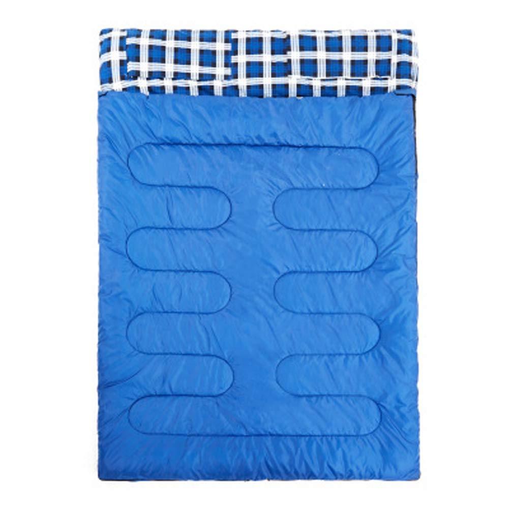 precios bajos todos los dias Saco de de de Dormir para Acampar al Aire Libre para Adultos, Camisa cálida y Gruesa, Costura de Doble Saco de Dormir portátil  marca de lujo