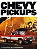 1977 Chevrolet Truck Original Sales Brochure Catalog - Chevy Silverado Pickup