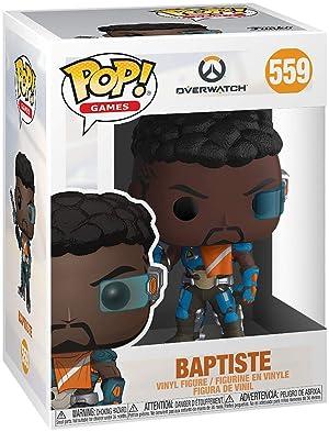 Funko Pop! Games: Overwatch - Baptiste (Color: Multicolor)