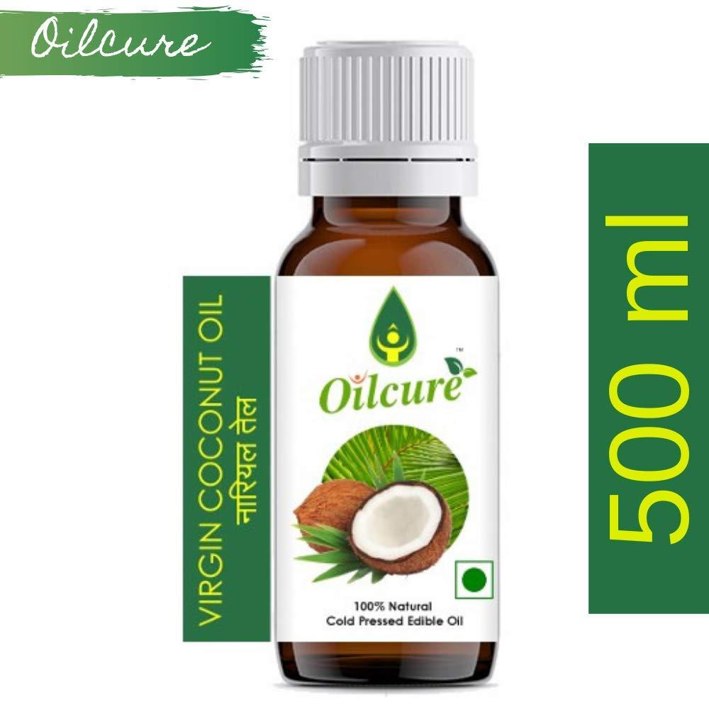 Oilcure Virgin Coconut Oil Cold Pressed - 500 ml (B07N2KKGML) Amazon Price History, Amazon Price Tracker