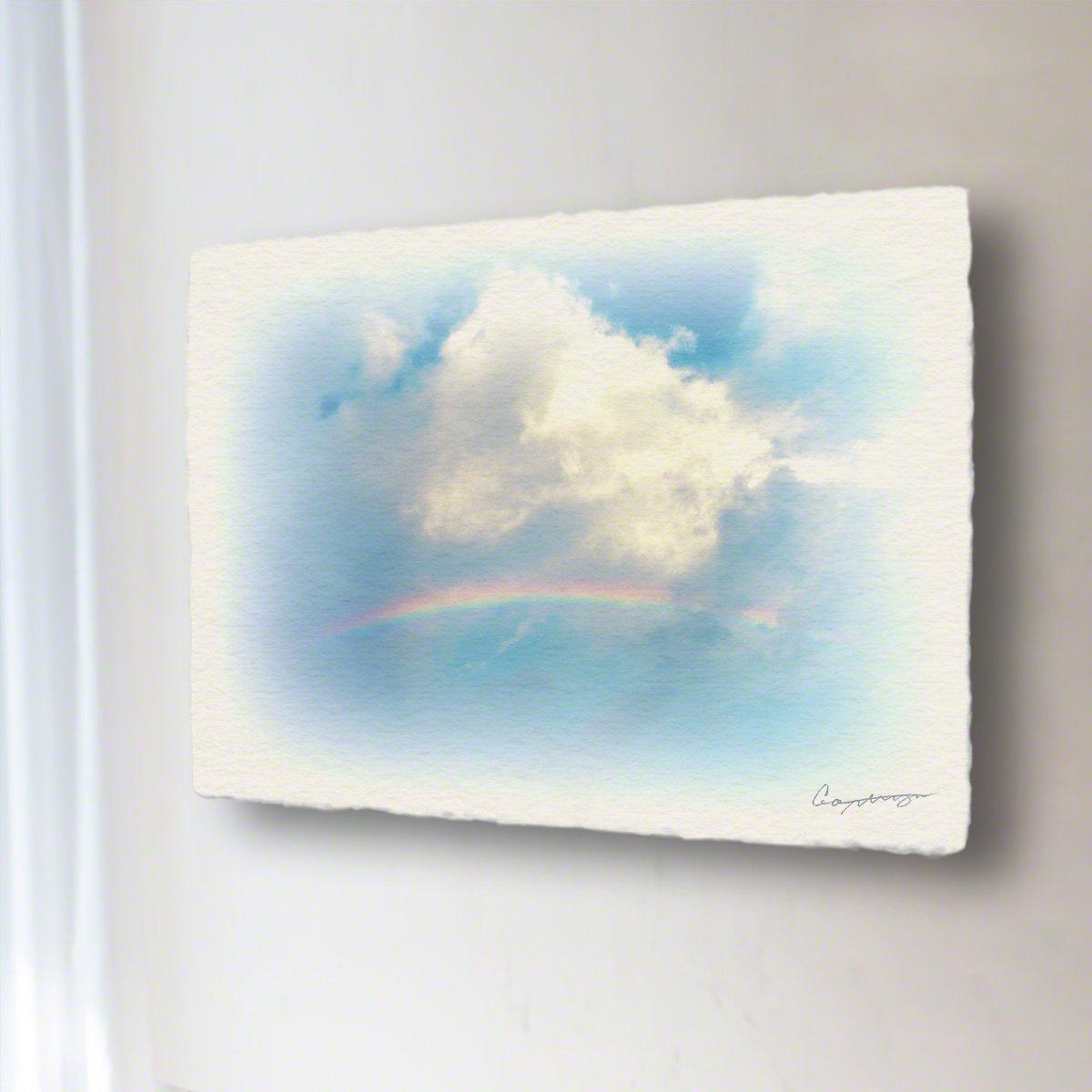 和紙 アートパネル 「虹と入道雲」 (32x24cm) 絵 絵画 壁掛け 壁飾り インテリア アート B072YWQWZR 13.アートパネル(長辺36cm) 8800円|虹と入道雲 虹と入道雲 13.アートパネル(長辺36cm) 8800円