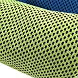 Cooling Towel - Sports Towel Cooling - Cooling Towel - 8833cm Fashion Creative Sport Cooling Towel Sweat Summer Ice Towel Ice Cool Towel PVA Hypothermia Cold Towels(Green)