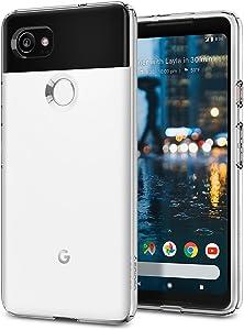 Spigen Liquid Crystal Designed for Google Pixel 2 XL Case (2017) - Crystal Clear
