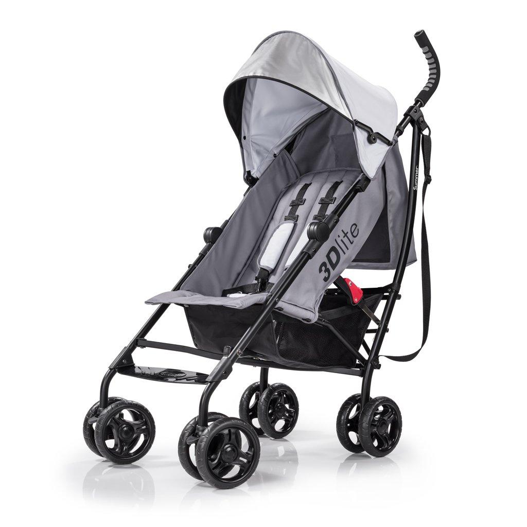 Summer Infant 3Dlite Convenience Stroller, Tangerine 21940