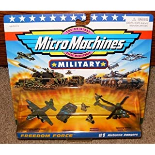 Micro Machines Airborne Rangers #1 Military Collection