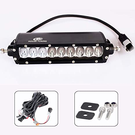 Wiring Harness Kit >> Amazon Com House Tuning Led Light Bar 6 Inch 45w With Wiring