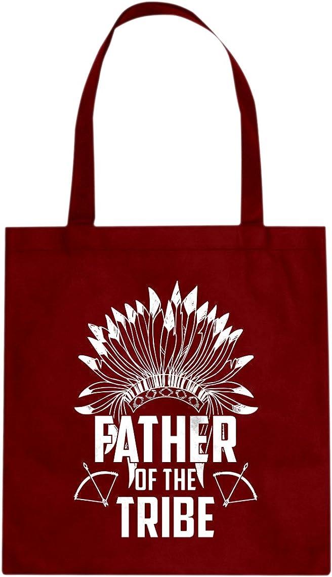Indica Plateau Dad of Boy Cotton Canvas Tote Bag