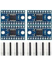 Icstation TXS0108E 8 Channel Logic Level Converter Bi-Directional High Speed Full Duplex Shifter 3.3V 5V for Arduino Raspberry Pi (Pack of 4)