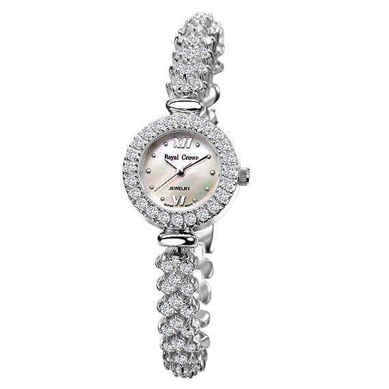 Joya de la corona de la mujer real reloj - Analógico Cuarzo 5266b: Amazon.es: Relojes