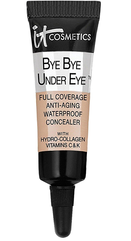 It Cosmetics Bye Bye Under Eye Full Coverage Anti-Aging Waterproof Concealer in Medium (Light-Medium) 0.11 FL OZ