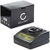 subtel® Chargeur de Qualité - () Compatible avec DeWalt DE9037 / DE9071 / DE9074 / DE9075 / DE9086 / DE9501 (7.2V / 9.6V / 12V / 14.4V / 18V /) Chargeur Câble Secteur Noir