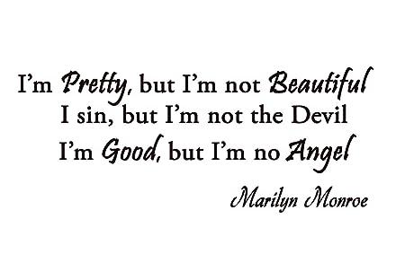 i m not beautiful