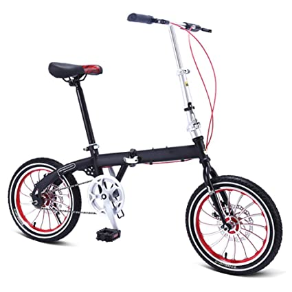 6dee28af5b1 Folding Mountain Bikes Adults Men Unisex Mini City Bicycles Lightweight For  Women Teens Classic Commuter With
