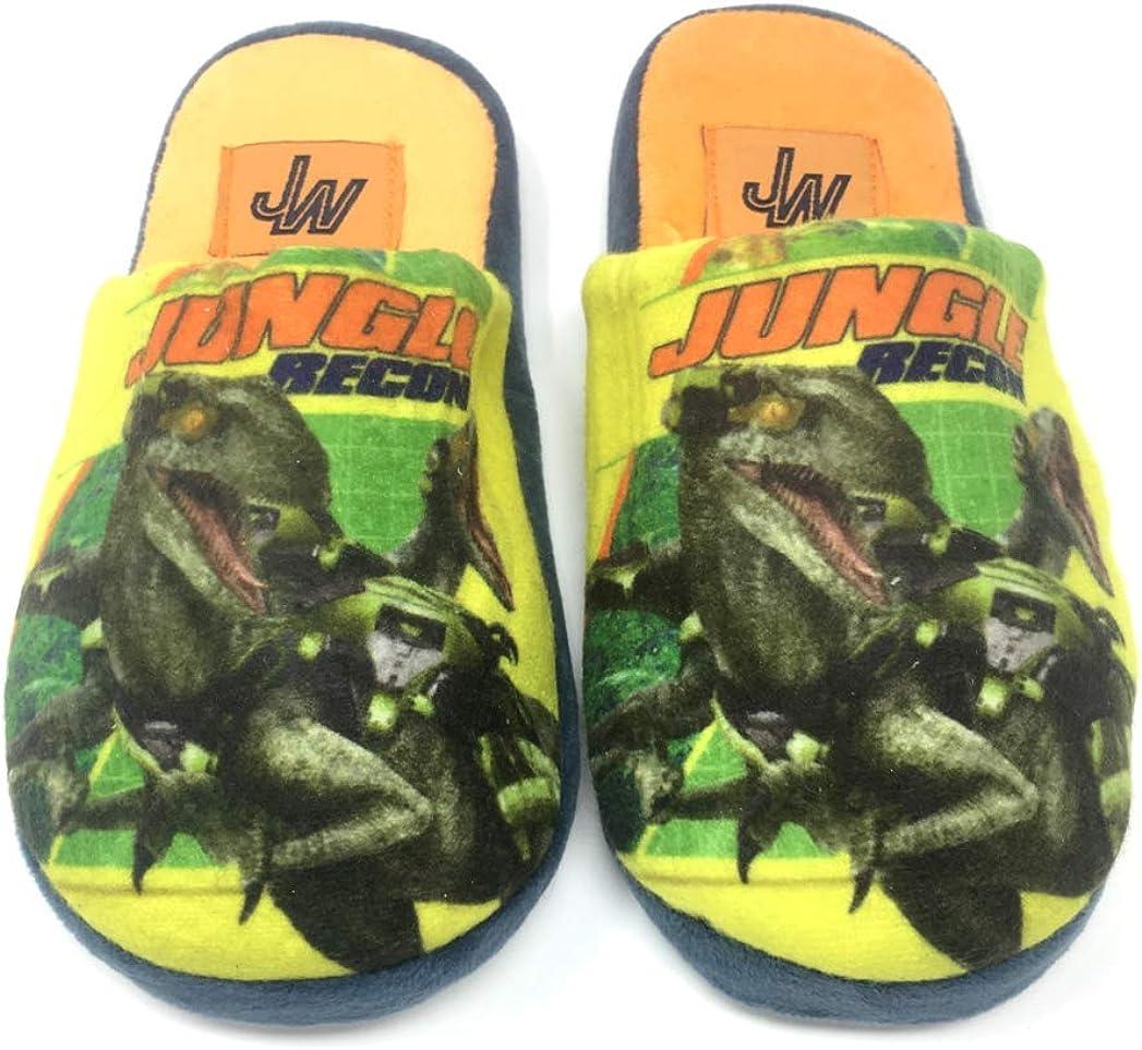 para Interior Dino Rex Zapatillas de Andar por casa dise/ño de Dinosaurios