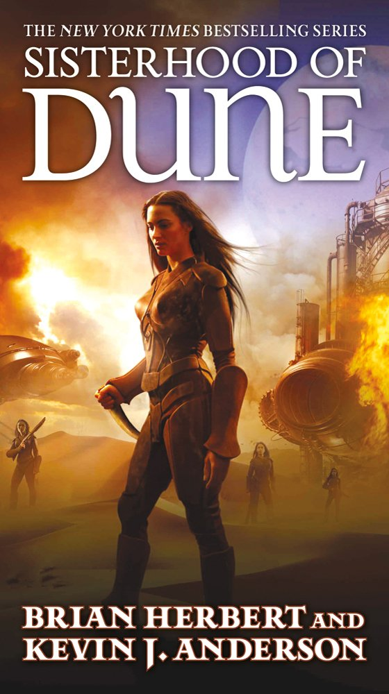 Brian Herbert & Kevin J. Anderson - Sisterhood of Dune (Der Thron des Wüstenplaneten)