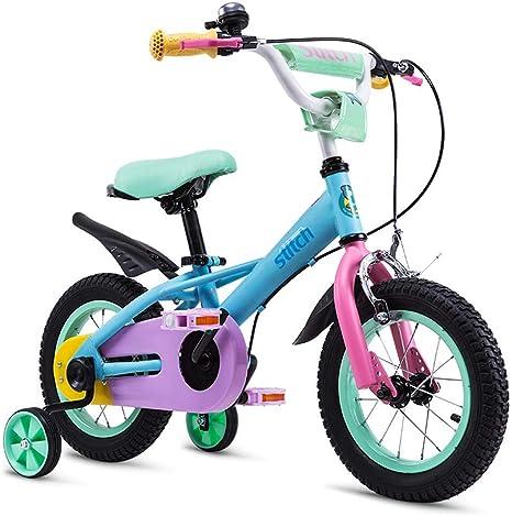 JINHH Bicicleta De Niña, Bicicleta De Ciclismo para Niños 14/12/16 Pulgadas Niño De 3-7 Años: Amazon.es: Deportes y aire libre