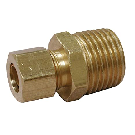 LASCO 17-6601 1//8-Inch Compression by 1//8-Inch Female Pipe Thread Brass Adapter