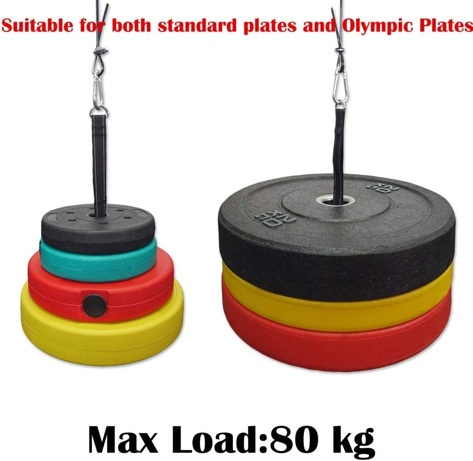 color show NOLOGO G.Y.X DIY Cable Pulley System Machine Attachment Length Adjustable with Loading Pin Triceps Strap Gym Equipment Workout Accessories