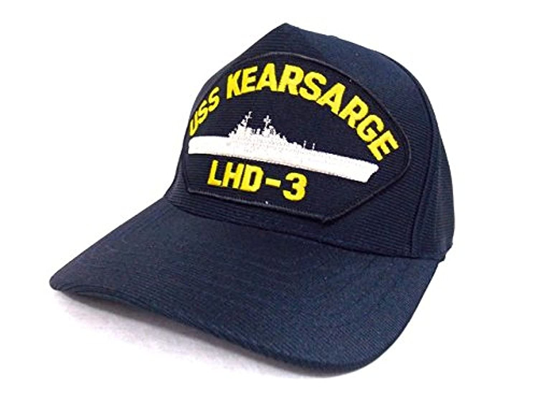 518969bda06 U.S Navy Cap USS Kearsarge LDH-3 NAVY Hat MADE IN USA at Amazon ...
