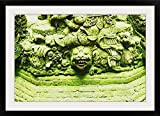 GreatBIGCanvas ''Close-Up of Sculptures, Bali, Indonesia'' Photographic Print with black Frame, 36'' X 24''''