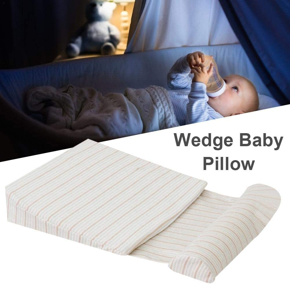 Dequate Wedge Pillow For Acid Reflux Your Newborn Sleep Solution Wedge Pillow For Acid Reflux //Back Pain//Allergies//Snoring Baby Cot 15-Degree Incline Bed Wedge Pillow