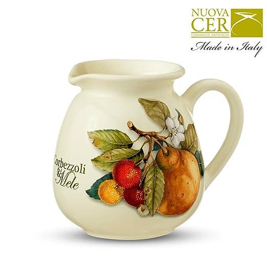 Cerámica lechera, jarra de leche - corbezzoli & Mele Collection ...