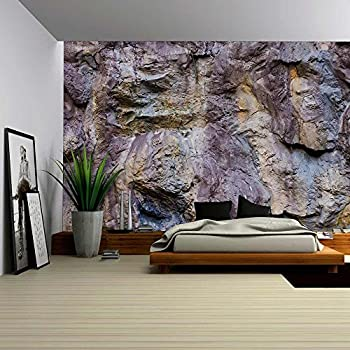wall26 Vintage Grunge Wall Texture Removable Wall Mural Self