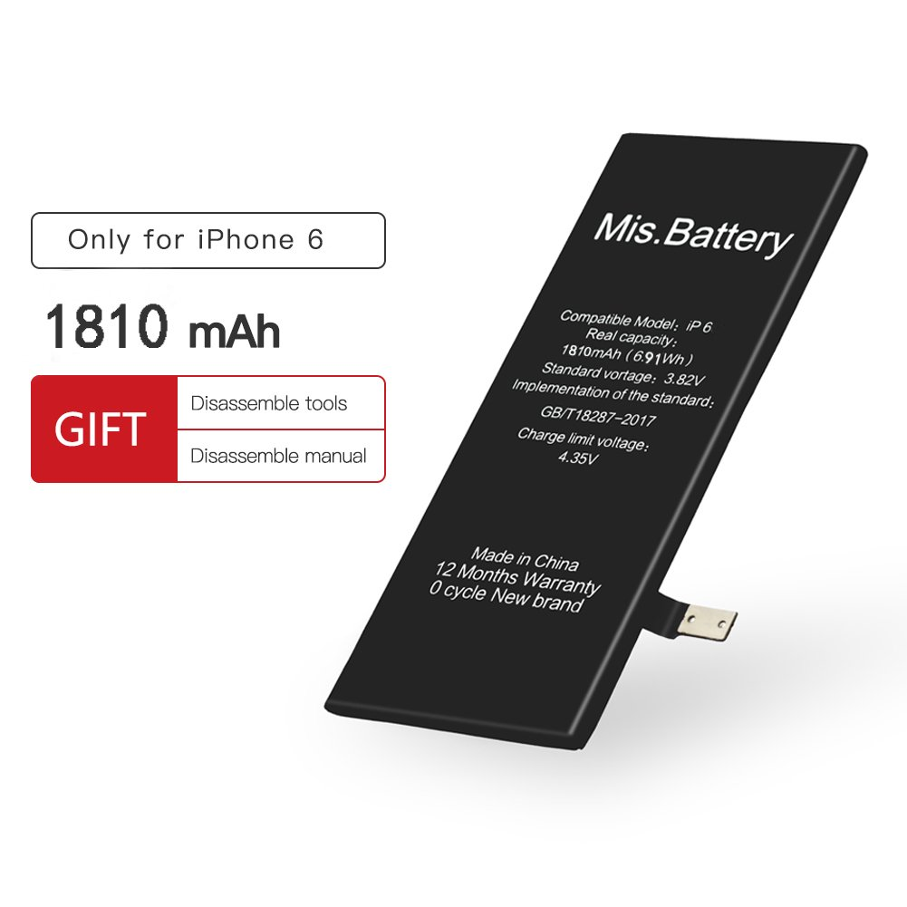 Amazon Iphone 6 Battery Iphone Battery 6 Replacement Li Ion