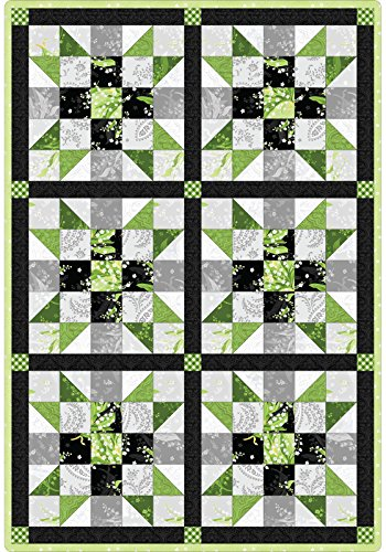 - Greenery Sister's Choice Pod Quilt Kit Maywood Studio