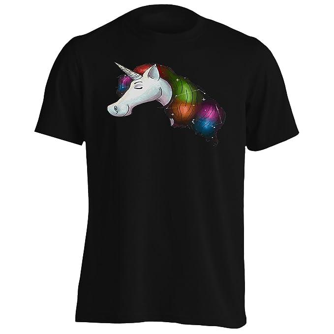 Moda Unicornio Bonita Camiseta de los Hombres o910m: Amazon.es: Ropa y accesorios