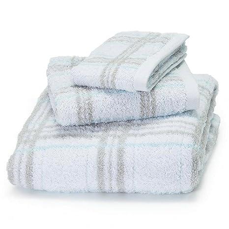 ZLR Pañuelo de algodón puro Conjunto de algodón puro engrosamiento absorbente Toalla de baño Toalla de