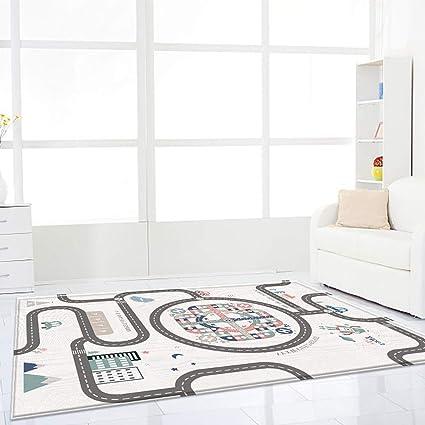 blanketswarm tapis de jeu pour enfant impermeable facile a nettoyer au sol tapis de gymnastique pour tout petits bebes enfants