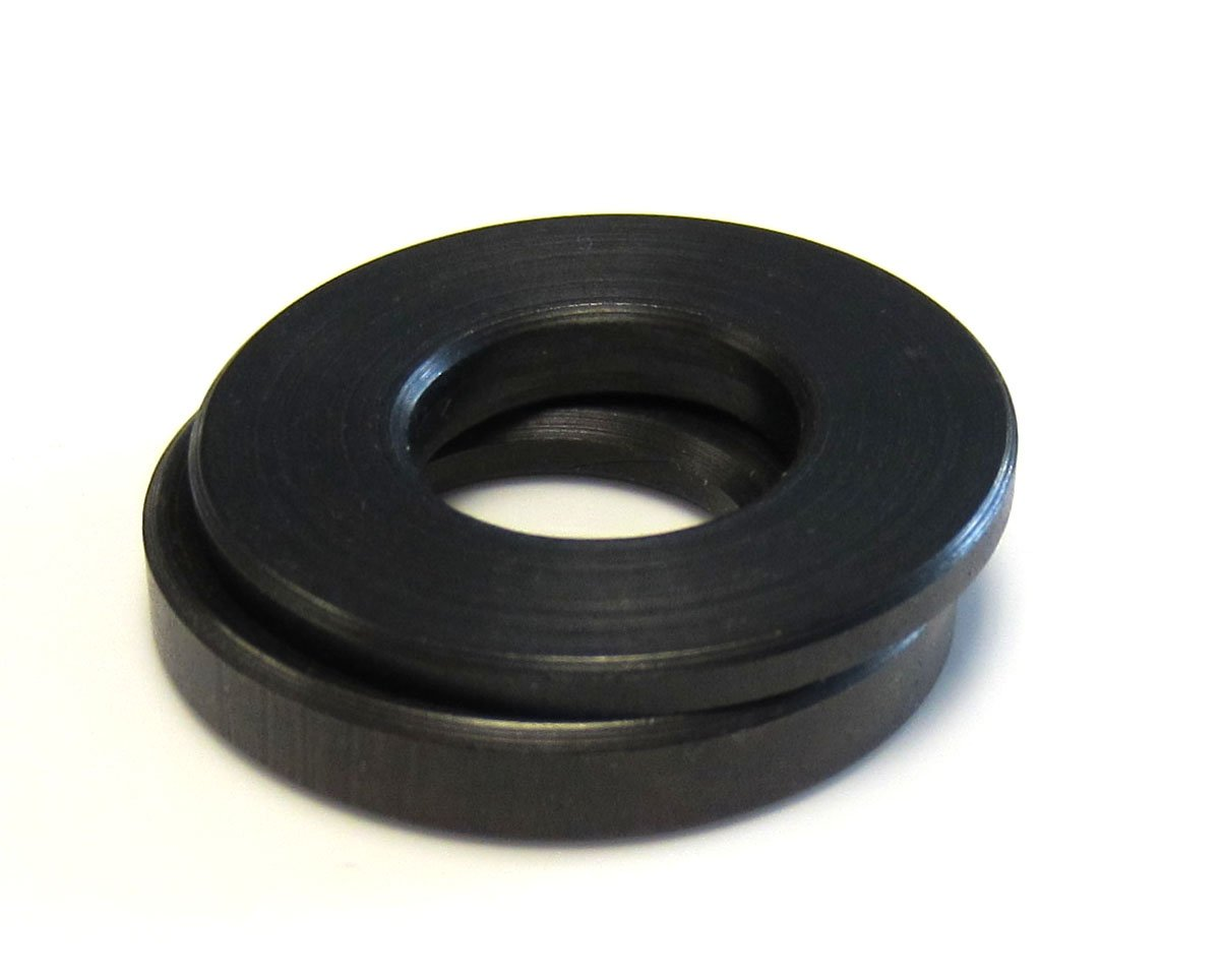 Morton Low Carbon Steel Spherical Washer Sets, Equalizing Washers, Inch Size, 3/8'' Bolt Size