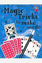Usborne Activities Magic Tricks to Make and Do with stickers Paperback