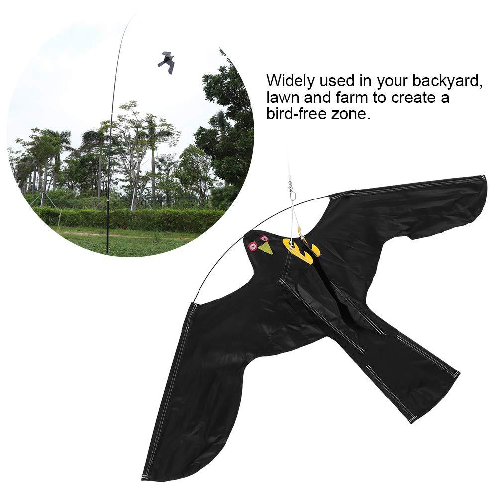 7M 7m Teleskopstange dehnbarer Vogelvertreiber Fliegender Adler Fliegender Adlerkite Zerone Vogelscheuche,5m