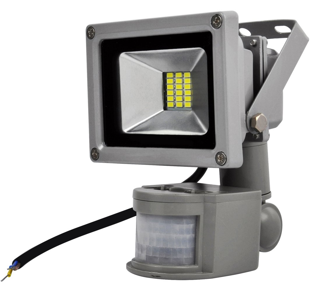 ALPHA DIMA 5pcs 20W Foco LED con Sensor Movimiento Foco Exterior LED Con Sensor Proyector 1800Lumen LED Exterior IP65 Resistente al Agua(Blanco Frío): ...