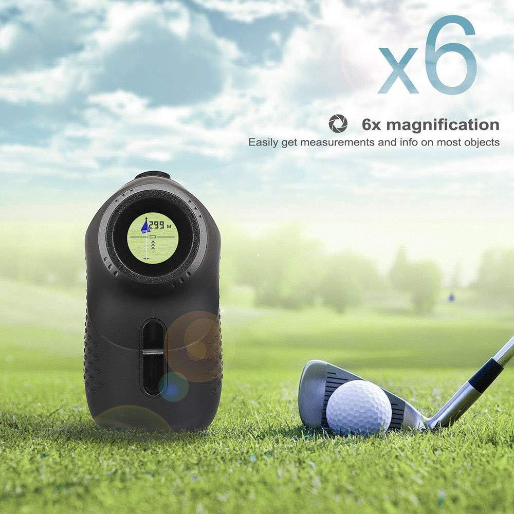 LKJCZ Telémetro para Caza y Golf-buscador de rangos de Golf ...