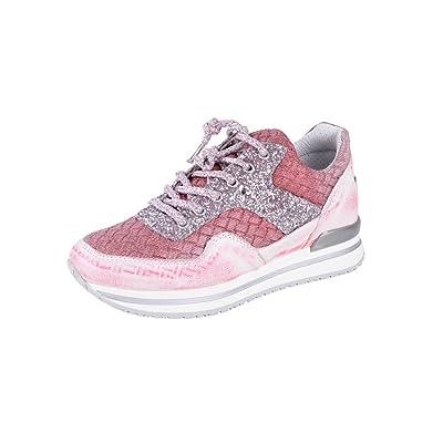 2Star Gold Zapatos Mujer Rosado Cuero Zapatillas 36