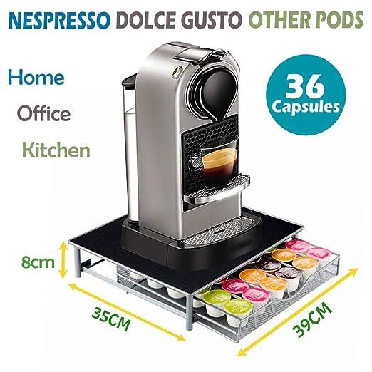 Nespresso Dolce Gusto - Soporte para cafetera (36 cápsulas ...
