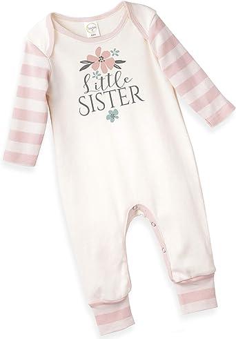 SR Baby Footie Love Love Love Print Baby Rompersuit Baby Romper